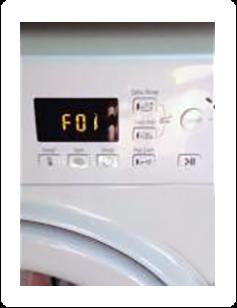 Ошибка F01 на электронном табло