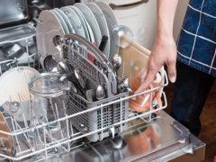 Не сушит посудомойка