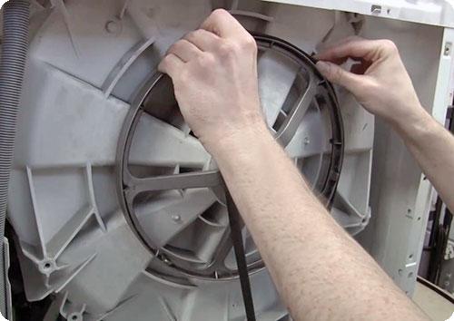 Не вращает барабан стиральная машина Electrolux