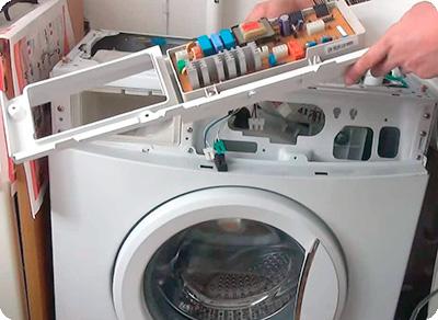 Электроника в стиральной машине Аристон
