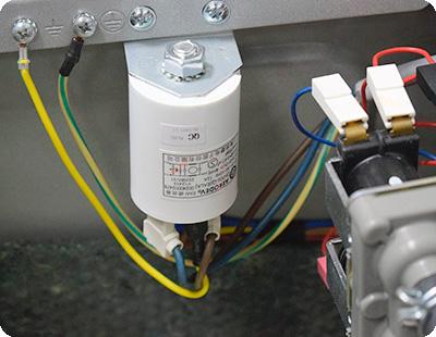 Сломан сетевой фильтр в стиральной машине Indesit