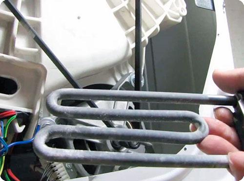 Не нагревает воду стиральная машина Electrolux
