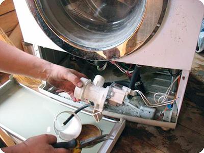 Насос в стиральной машине Аристон