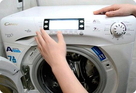 Не вращается барабан в стиральной машине Канди