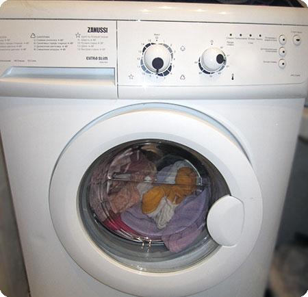 Не отжимает стиральная машина Zanussi