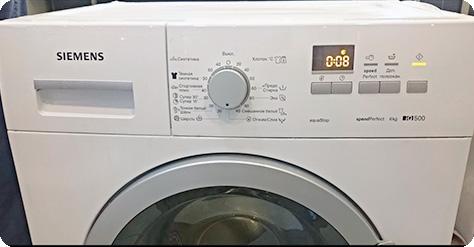 Шум и вибрация в стиральной машине Siemens